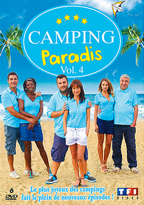 dvd blu ray de camping paradis coffret 4 serie comedie de de 2006 director. Black Bedroom Furniture Sets. Home Design Ideas